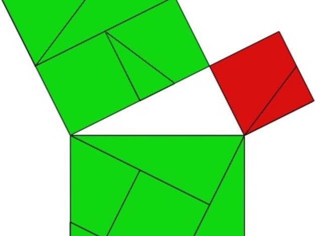 勾股定理七巧板