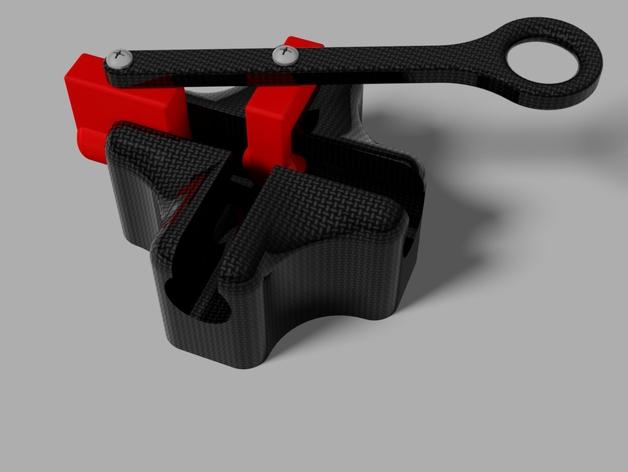 椭圆规 3D打印模型渲染图