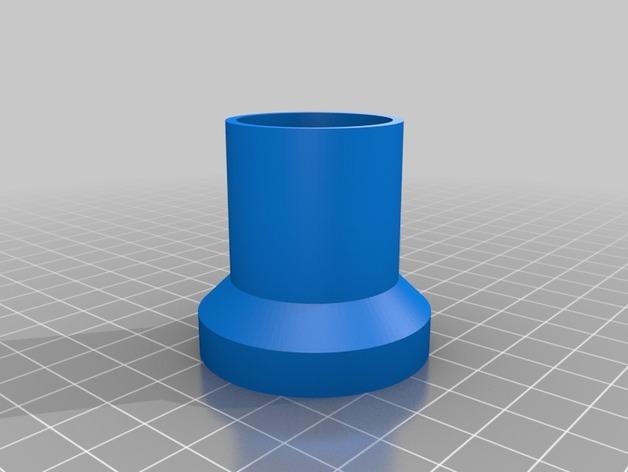 望远镜目镜管 3D打印模型渲染图