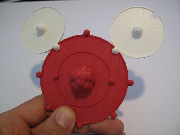 共价原子模型 3D打印模型渲染图