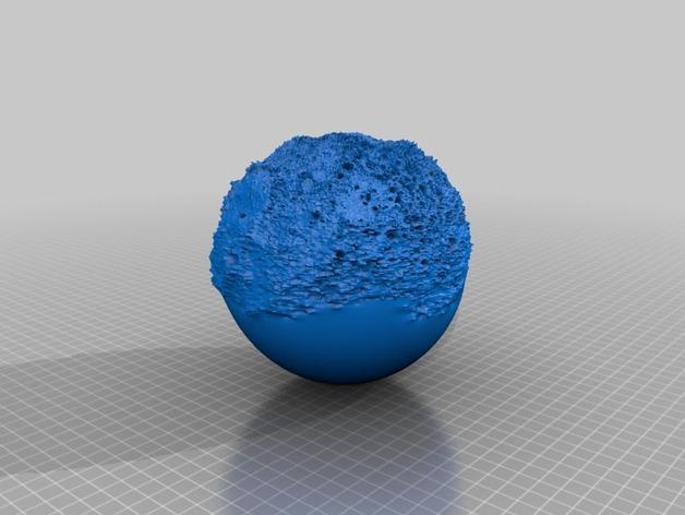 水星模型 3D打印模型渲染图