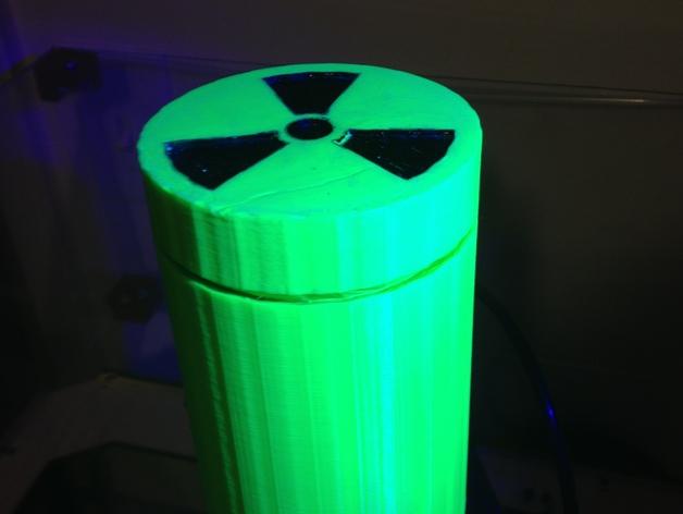 放射性样品盒