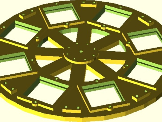 参数化自动滤光片转盘