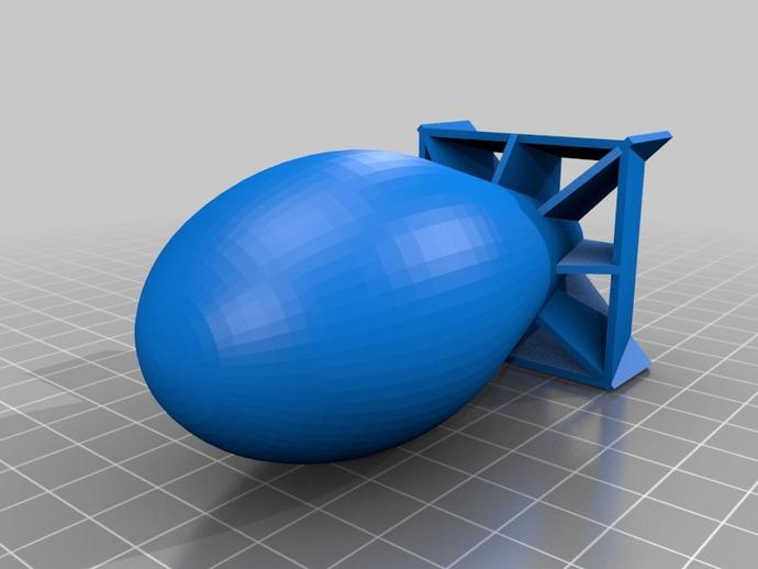 核炸弹模型