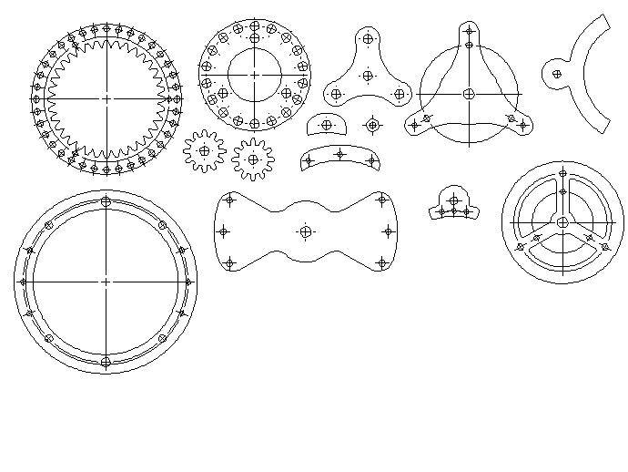 行星齿轮变速器