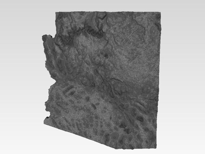 亚利桑那州地形图