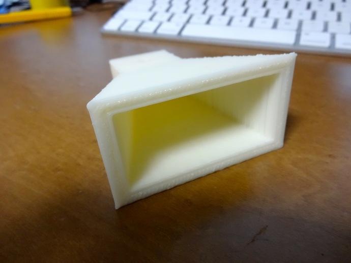 号角天线 3D打印模型渲染图