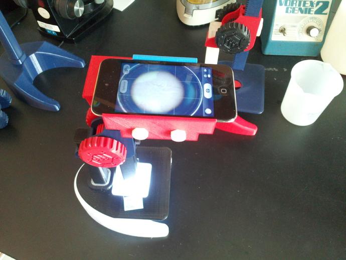 Ipod Touch适配器 3D打印模型渲染图