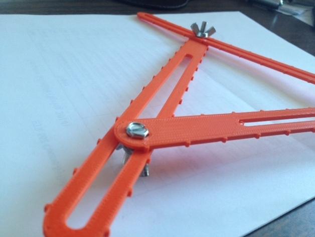 三角形工具 3D打印模型渲染图
