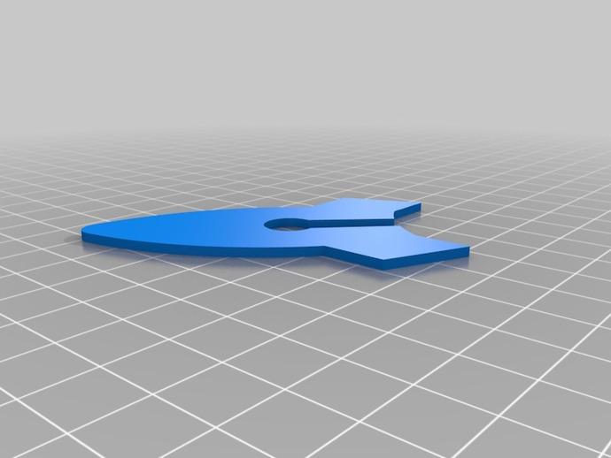 火箭头模型 3D打印模型渲染图