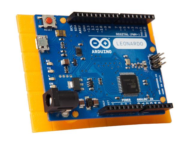 Rokenbok Arduino 电路板底座 3D打印模型渲染图