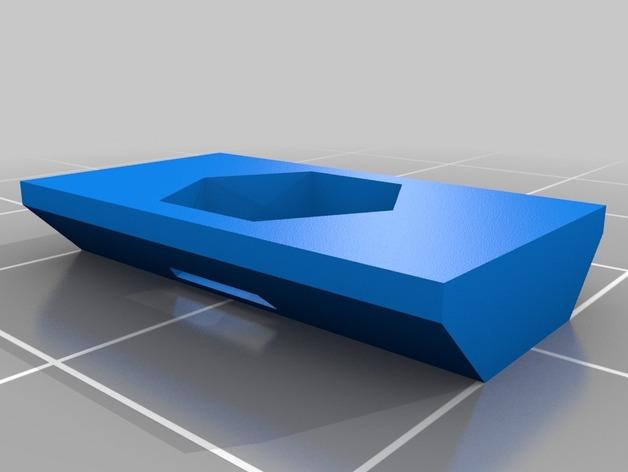 M5保险螺帽 3D打印模型渲染图
