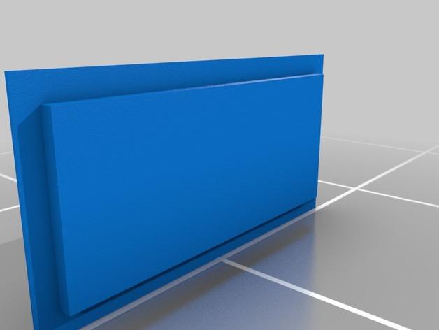吸尘器风洞 3D打印模型渲染图