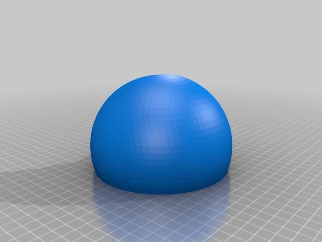 剖面地球模型