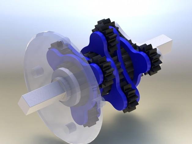 行星齿轮变速器 齿轮箱