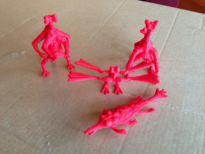 火星上的六足动物模型