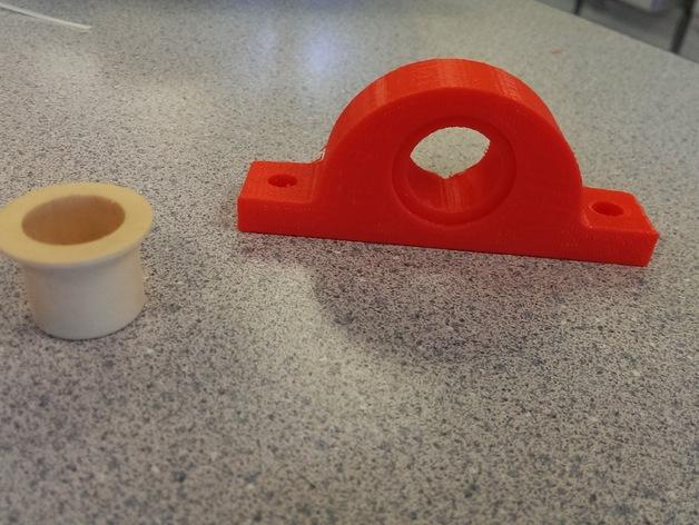 Igus J 电缆架 电缆夹 3D打印模型渲染图