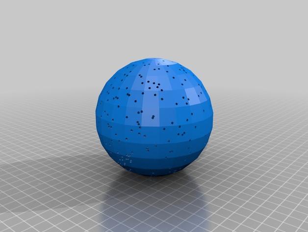 球形天体模型