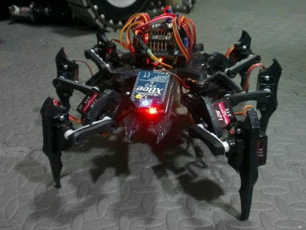 六足虫机器人