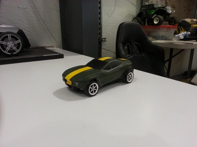 Rally Fighter车身