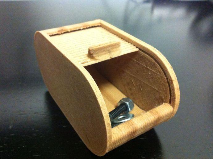 辊箱盒 圆形