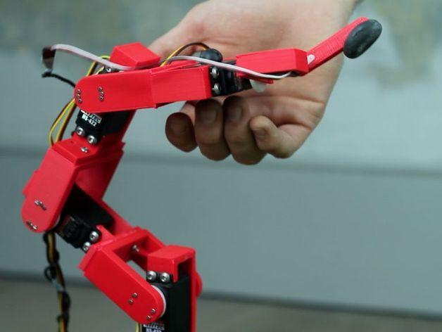 Fixbot机器人 3D打印模型渲染图