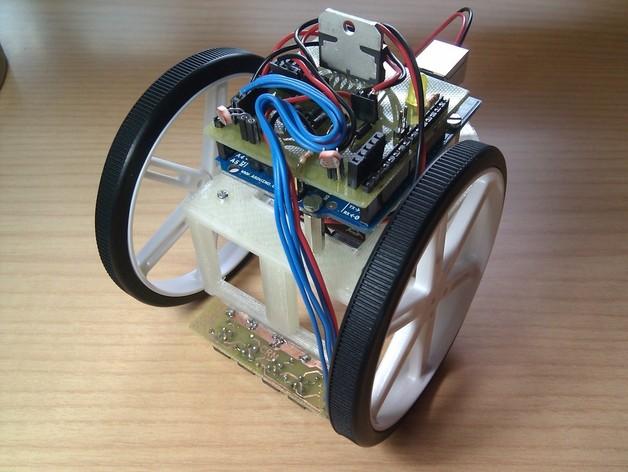 Arduino HKTR-9000机器人 3D打印模型渲染图