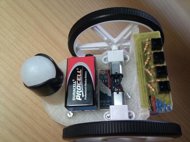 Arduino HKTR-9000机器人