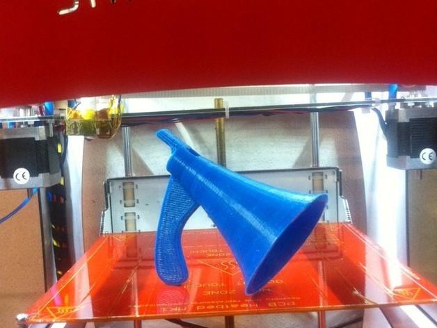 Kaloob大喇叭/扩音器 3D打印模型渲染图
