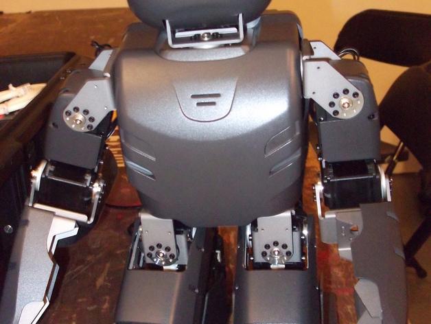 DArwln-OP机器人的支架及组件