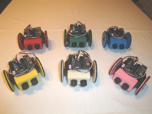 迷你Skybot机器人V1.0 3D打印模型渲染图