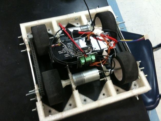 相扑机器人组件