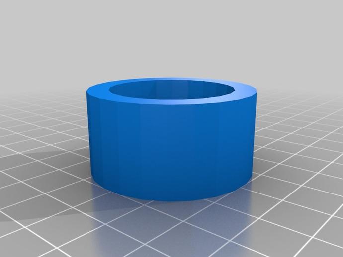 图片连接器 3D打印模型渲染图