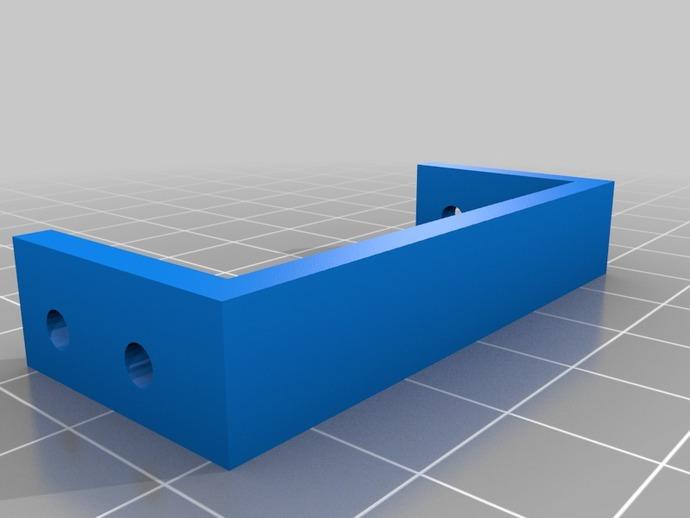 MiniSkybot机器人底盘 3D打印模型渲染图