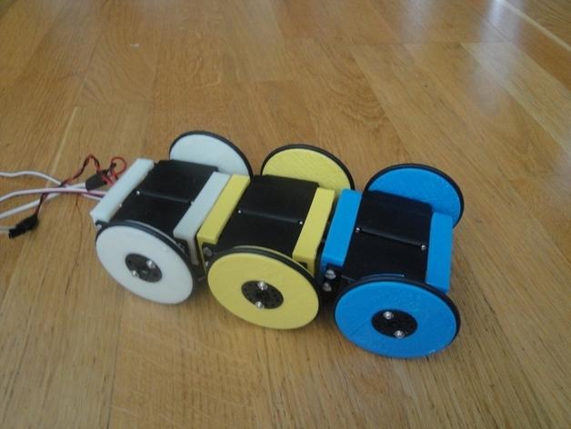 MiniSkybot机器人底盘