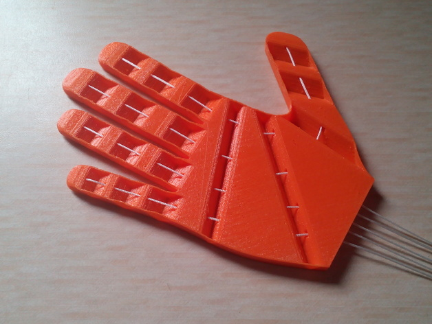 打印假肢 3D打印模型渲染图