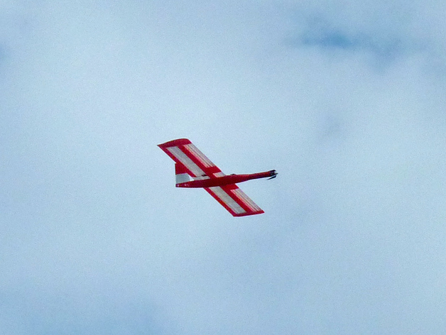 """""""红色的天鹅""""——最大的全打印滑翔机"""