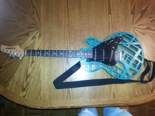 两种风格混合吉他