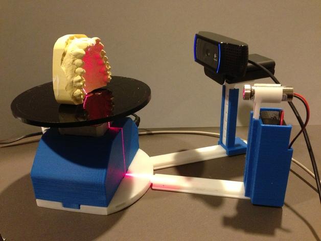 打印你自己的3D扫描仪组件