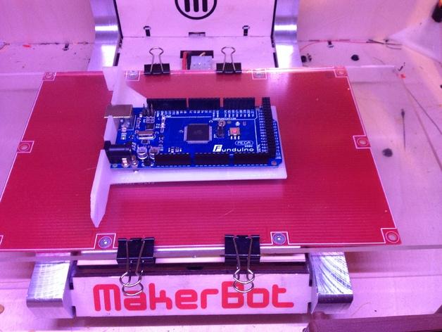 Arduino Uno/Mega的PCI焊接槽 3D打印模型渲染图
