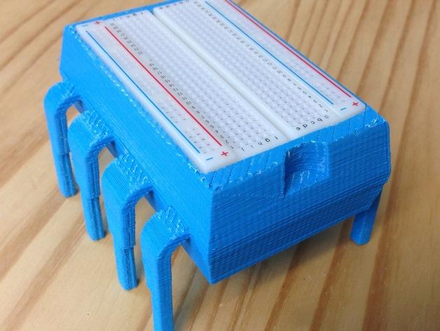 8引脚集成电路/单片机-面包板架和零件盒
