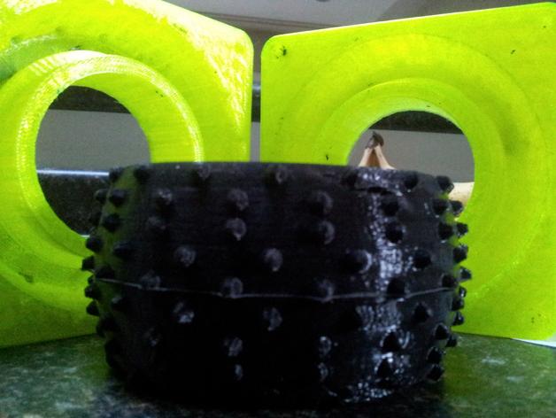 卡车轮胎模型