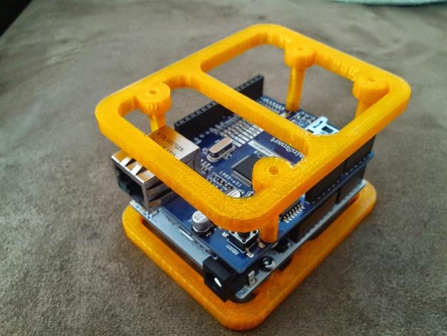 Ardunio Uno w 外壳 3D打印模型渲染图