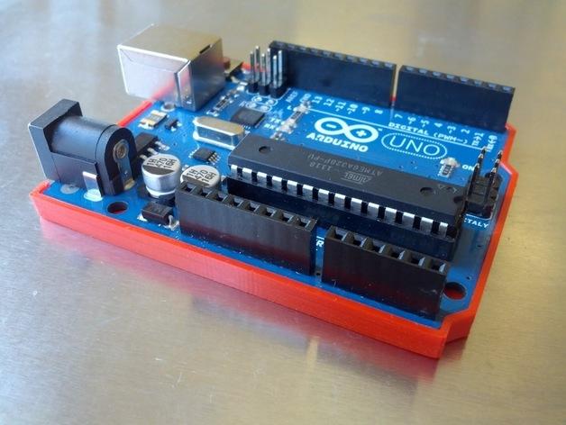Arduino 保护壳 3D打印模型渲染图