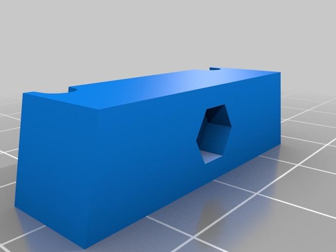 全3D打印模块 RC 滑翔机