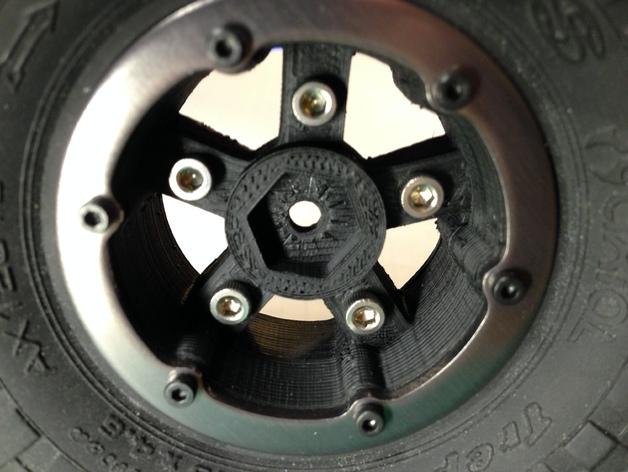 Axial SCX10 和Wraith的1.9夹片锁胎  12mm Hex