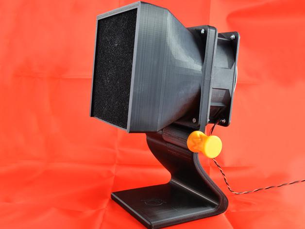 可焊接油烟机 3D打印模型渲染图