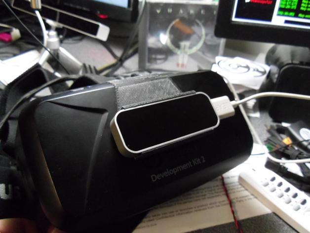 Oculus Rift DK2 固定适配器 3D打印模型渲染图