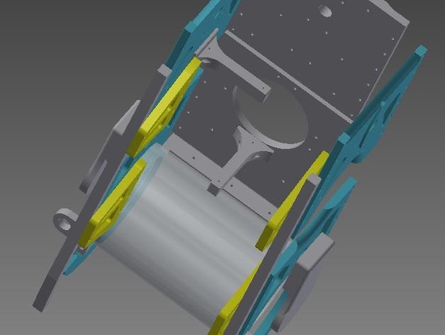 TimROV-一个开源远程追踪操作控制四轮车
