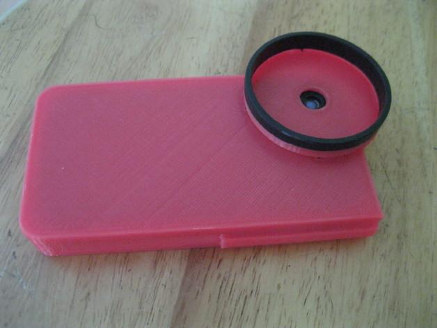 iPhone 4s望远镜适配器